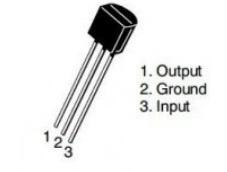 78L05 Voltage Regulator Pin Out