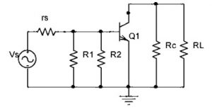 AC Equivalent Circuit for CE Amplifier