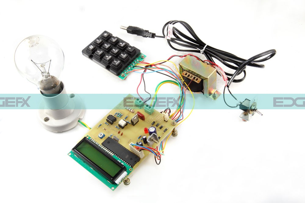AC Power Controller with Programmable Interference