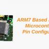 ARM7 Based (LPC2148) Microcontroller Pin Configuration