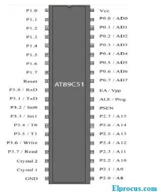 at89C51-microcontroller