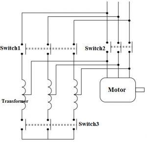 Autotransformer Starter Circuit