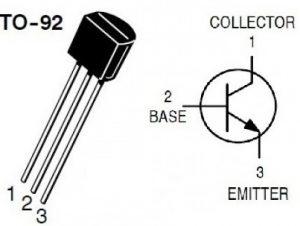BC337 Transistor Pin Configuration