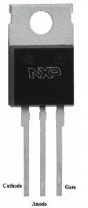 BT151 SCR Pin Configuration
