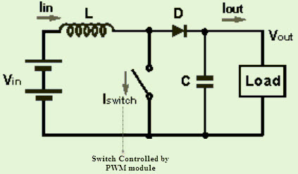 on dc to converter schematic diagram