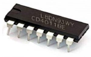 CD4011 NAND Gate