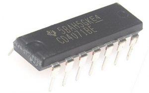 CD4071 OR Gate IC