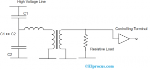 Capacitive Voltage Transformer Circuit