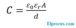 Capacitive-transducer-formula