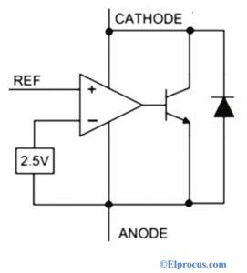 Circuit Diagram of TL431 Regulator