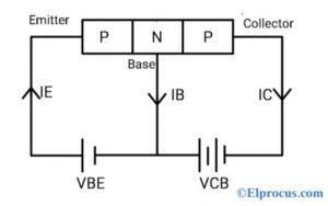 Circuit Diagram of 2N2907 Transistor