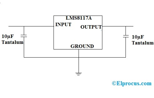 Circuit Diagram of LMS8117A