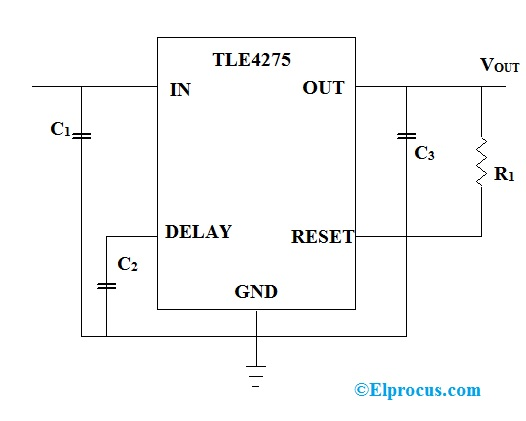 Circuit Diagram of TLE4275