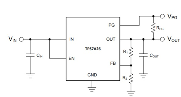 Circuit Diagram of TPS7A26