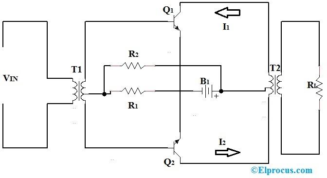 Class-A-Push-pull-Amplifier