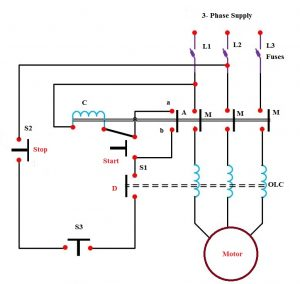 Wiring Schematic Motor Starter - Wiring Diagram M4 on