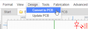 Conversion of PCB Layout