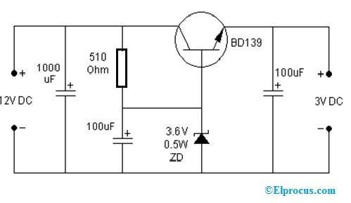 DC to DC Converter Circuit using BD139 Transistor