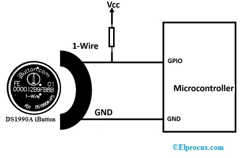 DS1990A iButton Interfacing with Microcontroller
