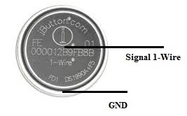 DS1990A iButton Pin Out