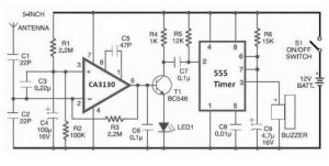 Simple Electrical Detector Circuit for Cell Phone