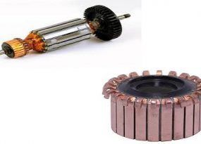 Difference between Armature and Commutator