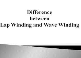 Difference between Lap Winding and Wave Winding