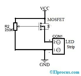Dimmer Circuit with IRFZ44N MOSFET