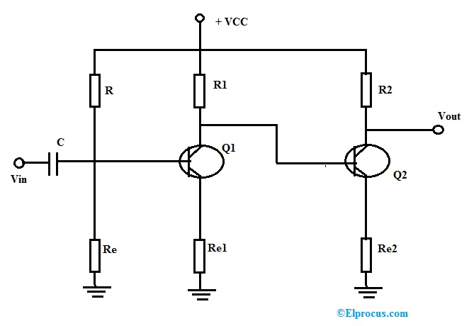 Direct Coupled Amplifier Circuit