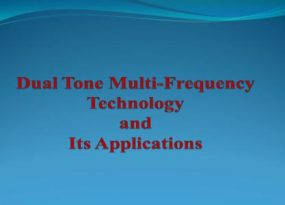 Dual Tone Multi-Frequency Technology