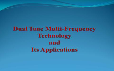 dual tone multi frequency circuit working and applications rh elprocus com