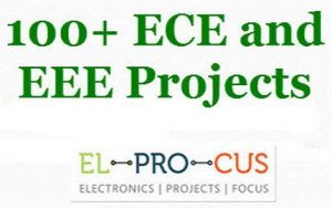 ECE and EEE Mini Projects