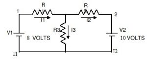 Experiment Circuit of Superposition Theorem