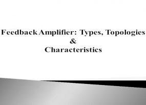 Feeedback Amplifier