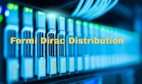 Fermi Dirac Distribution