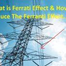 Ferranti Effect In Transmission Line