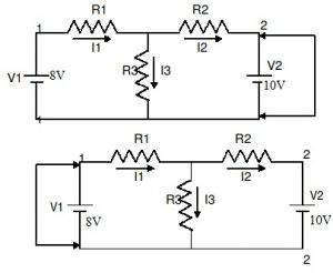 Final Experiment Circuit of Superposition Theorem