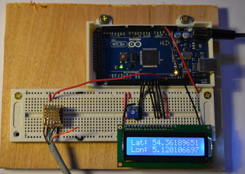 How to Build GPS Clock Using Arduino, LCD Display & GPS Receiver