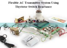 Flexible AC Transmitter System Using Thyristor Switch Reactance