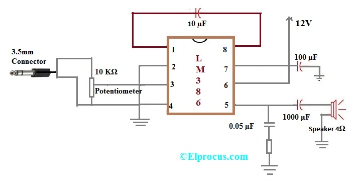 Prime Ic Lm386 Pin Configuration Circuit Diagram Features And Applications Wiring 101 Akebretraxxcnl