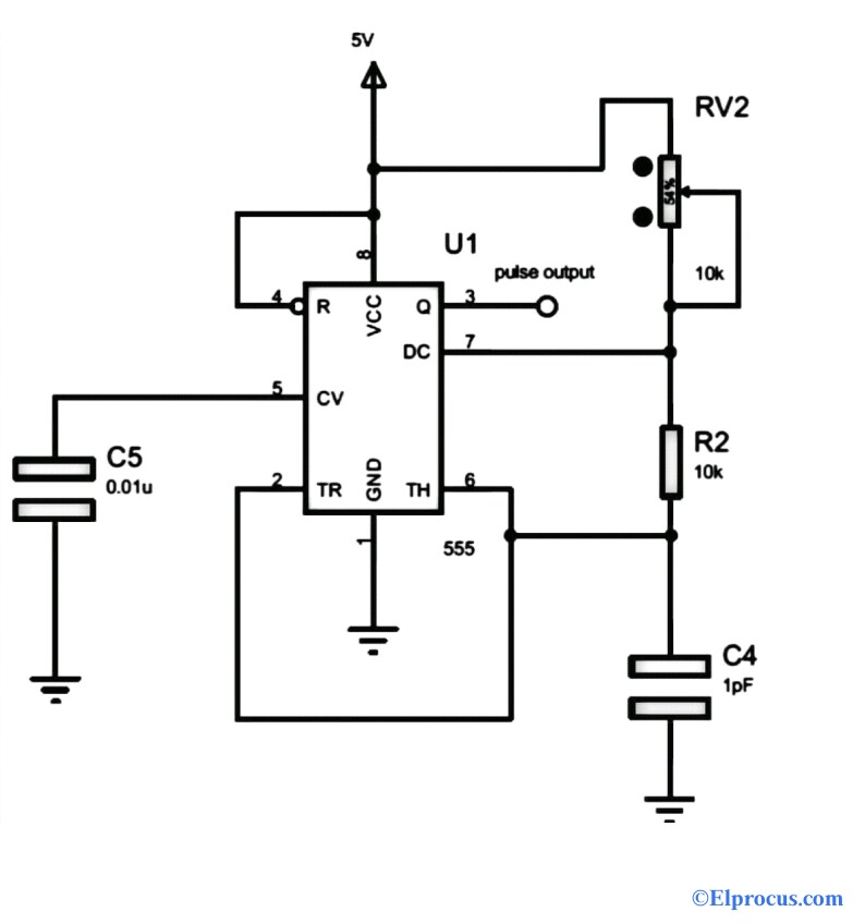 Frequency Counter Using IC 555 Timer