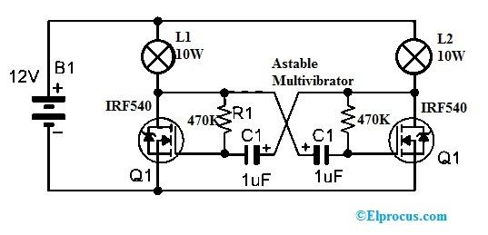 IRF540N MOSFET Circuit