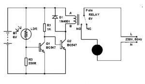 LDR Circuit Diagram