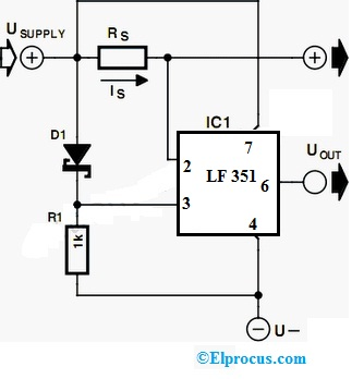 LF 351 Circuit Diagram