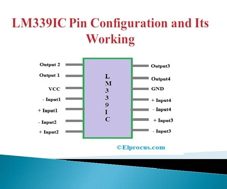 Ic Lm339  Pin Configuration  Circuit Diagram  And Its