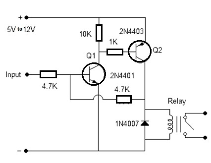 Latch Switch with Transistors