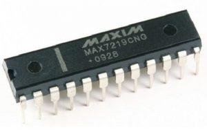 MAX7219 Display Driver