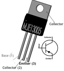 MJE13005 Transistor Pin Configuration