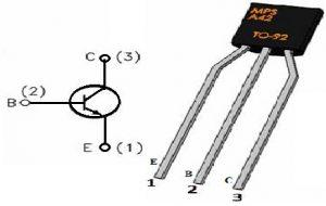 MPSA42 Transistor Pin Configuration