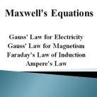 Maxwells Equations